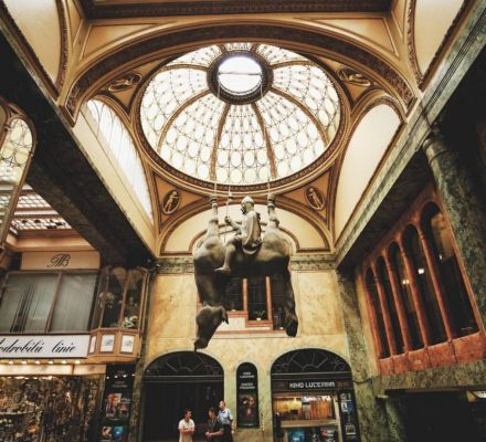 Lucerna | Galleries et passages